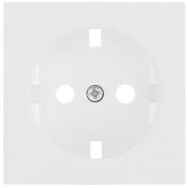 Kombi Steckdosenplatte, KLEIN®-KG 55 reinweiß