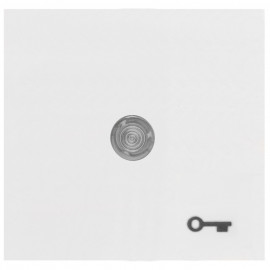 Wippe für Taster, mit Symbol 'Tür' und klarer Linse, KOPP OBJEKT HK 07 reinweiß (RAL 9010)