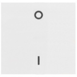 Wippe mit Beschriftung Symbol '0/I', KOPP OBJEKT HK 07 reinweiß (RAL 9010)