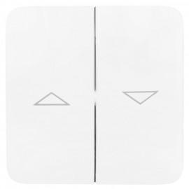 Wippe für Jalousie - Schalter, Doppelwippe, ultraweiß, LEGRAND CREO