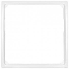 Adapterrahmen Becker für Fremdgeräte mit Zentralplatte 50 x 50 mm