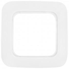 Steckdose Abdeckrahmen, 1 fach, REFLEX SI alpinweiß