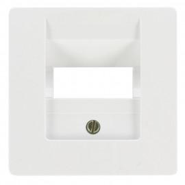Zentralplatte für 2 - fach - UAE - Steckdose, KOPP OBJEKT HK 05 arktisweiß