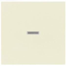 Schaltereinsatz Wippe für Kontroll Taster, SYSTEM 55 cremeweiß glänzend