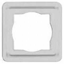 Abdeckrahmen, 1-fach, Unterputz, Feuchtraum, arktikweiß, Kopp
