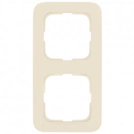 Abdeckrahmen Schalterprogramme, 2 fach, KLEIN SI® weiß