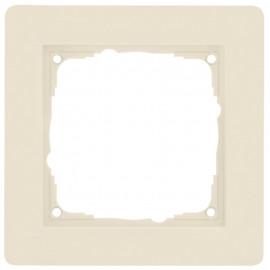 Schaltereinsatz Abdeckrahmen, 1-fach, KLEIN® K55 weiß