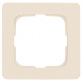 Abdeckrahmen, 1 fach, Linear für Kabelkanalmontage, KLEIN SI® weiß