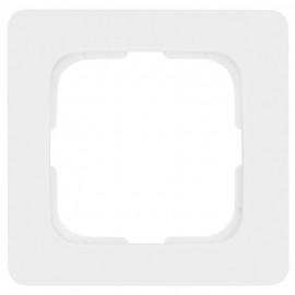 Abdeckrahmen, 1 fach, Linear für Kabelkanal Montage, KLEIN SI® reinweiß