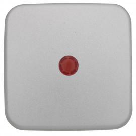 Wippe Schalterprogramme für Kontroll Schalter, mit Linse, KLEIN SI® silber matt