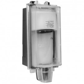 Steckdose Außen, Aufputz, 230V / 16A, abschließbar, IP44, inter Bär