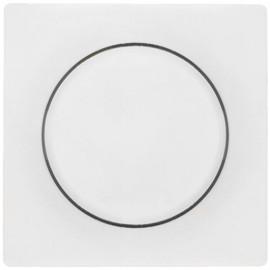 Abdeckung für Druck / Dreh - Dimmer, KOPP OBJEKT HK 07 reinweiß (RAL 9010)