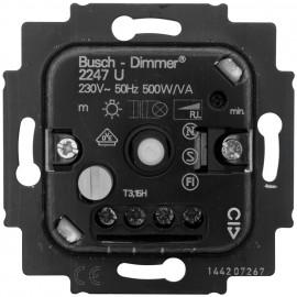 Dimmereinsatz Druck-/ Wechsel 20-500W / VA Busch-Jaeger