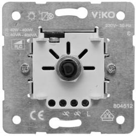 Dimmereinsatz Druck / Wechsel, 40 - 400 W / VA, Viko
