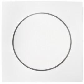 Abdeckung für Drehdimmer, SERIE S.1 polarweiß glänzend