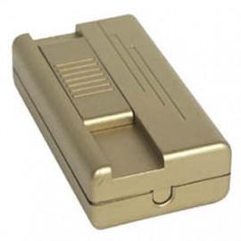 Lampen Schnur Fußdimmer, 20 - 400W, Phasenanschnitt, gold