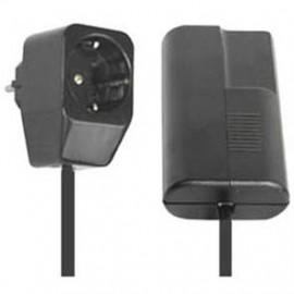 Lampen Schnur Tischdimmer, 20 - 400W, Phasenanschnitt, schwarz Zuleitung 1,5 Meter