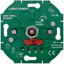 Dimmereinsatz Druck Wechsel, LUMEO® DOMUS, T39.08 20 - 250W, Ehmann