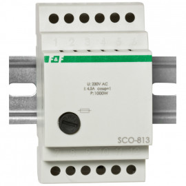 Universal Tastdimmer, 230V/1000W für Reiheneinbau Phasenanschnitt