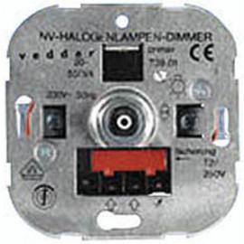 Dimmereinsatz Druck / Wechsel, 20 - 500W, Presto Vedder