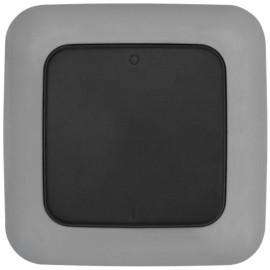 Funk Wandsender für Außen Komplett, 1 Kanal, schwarz, Smartwares