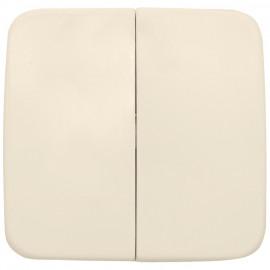 Wippe für Kombi Funk Wandsender, 1 teilig, passend für KLEIN SI® weiß, Kopp