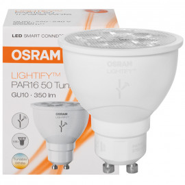 Lampe LED, LIGHTIFY,Reflektor, GU20/240V/6W PAR16, 350lm, Osram