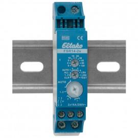 Funk-Schaltempfänger für Reiheneinbau, FSR14-2x, 12V-DC