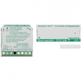 Abluftsteuergerät Funk Einbau ZASF09, 250V/10A, potentialfrei Schalk