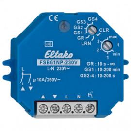 Funk Schaltempfänger für Gruppen, FSB61NP-230V, 1 Kanal, 1+1 Schließer 250V / 10A
