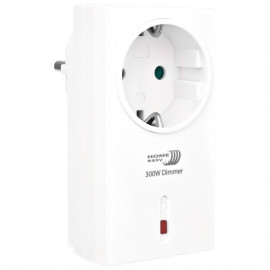 Steckdosen Adapter Funk, dimmbar bis 200W ohmsche Last, 1 Kanal, reinweiß, Smartwares