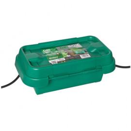 Kabelverteilerbox, DRIBOX 200, Breite 200mm, Tiefe 90mm, Höhe 90mm, IP55