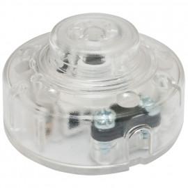 Schnur Fußschalter, Fuß Taster, 250V / 2(0,7)A transparent