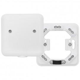 Geräteanschlussdose, Aufputz / Unterputz, 5 x 2,5², H 24 mm, weiß