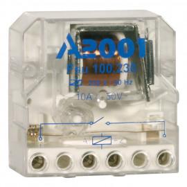 Stromstoßschalter, UP, 10A-AC Breite 45mm, Höhe 45mm, Tiefe 23mm