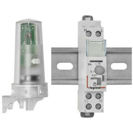 Dämmerungsschalter, für Reiheneinbau, IP 54 230V / 3680W / 2000VA Legrand