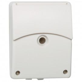 Dämmerungsschalter Aufputz, 230V / 2300W / 1150VA und 12/24V-DC/5A, CDSi-A/N, IP 54, weiß