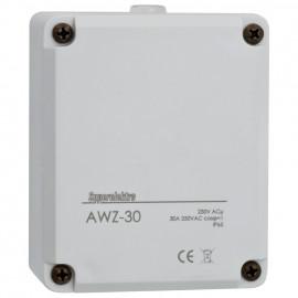 Dämmerungsschalter Aufputz, 230V / 30A, IP 65, grau 3 - 1000 Lux einstellbar