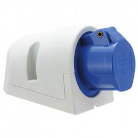 CEE Wandsteckdose, 3-polig, 16A/230V, IP44 spritzwassergeschützt