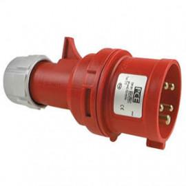 CEE Stecker, 5-polig, 400V Ampere 63A, IP66 / 67, Prüfung VDE - PCE