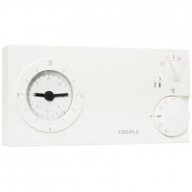 Uhrenthermostat, Aufputz Wechsler, EASY 3 ST, 230V / 10A, +5° bis +30°, weiß