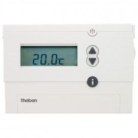 Digital Uhrenthermostat, Aufputz Wechsler, TOP2 RAQM 812, 230V / 6A, +6 bis +30°