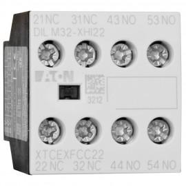 Leistungsschütz Baustein, DILM 32-XHI 22, 2 Schließer, 2 Öffner - Eaton