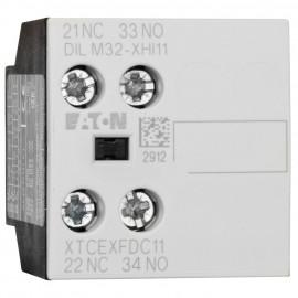 Leistungsschütz Baustein, DILM 32-XHI 11, 1 Schließer, 1 Öffner - Eaton