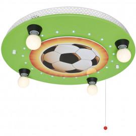 Kinderzimmerleuchte, Deckenleuchte, 4 x E14 / 40W und 20 LEDs / 0,07W