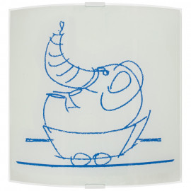 Kinderzimmerleuchte, Wandleuchte Elefant, 1 x E27 / 42W