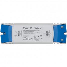 Elektronische Halogentrafos NV Sicherheitstrafo, 230V / 11,5V / 0-150W Ilox