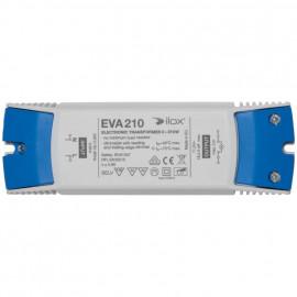 Elektronische Halogentrafos NV Sicherheitstrafo, 230V / 11,5V / 0-210W Ilox