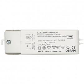 Elektronische Halogentrafos NV Sicherheitstrafo 230V / 11,5V / 35-105W Osram