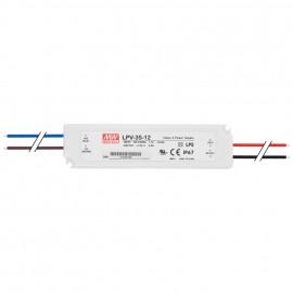 LED Netzteil, 230V / 12V-DC / 35W Mean Well